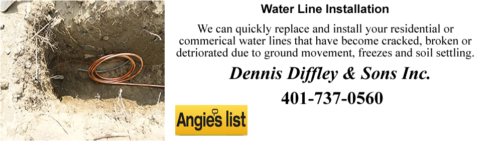 Water Lines Repaired